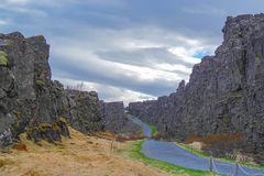 Phingvellir/Thingvellir Royalty-vrije Stock Foto