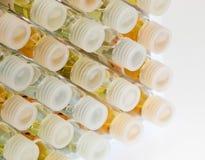 Phiolen - Chemie Stockfoto
