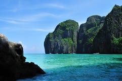 PhiPhiö, Phuket, Thailand Arkivfoton