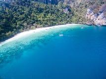 PhiPhi海岛 免版税库存图片