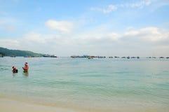 PhiPhi Don wyspa Tajlandia Zdjęcia Stock