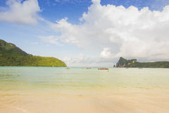 PhiPhi-Insel bei Krabi, Thailand Stockbilder