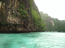 PhiPhi Island. One of beautiful beaches in Thailand Stock Images