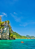Phiphi island, phuket,thailand Royalty Free Stock Photo