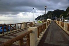 Phiphi island pier Stock Photos