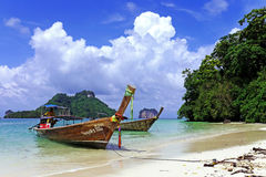 PhiPhi och Krabi öar thailand Fotografering för Bildbyråer