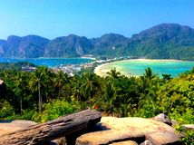 PhiPhiisland Таиланд Стоковая Фотография
