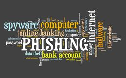 Phishing网络安全 向量例证