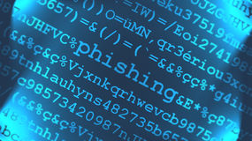 phishing ιός Στοκ εικόνα με δικαίωμα ελεύθερης χρήσης