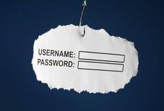 Phishing Στοκ εικόνες με δικαίωμα ελεύθερης χρήσης