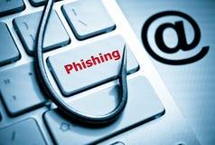 Phishing zdjęcia stock