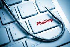 Phishing Fotografia de Stock