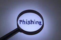 Phishing Royalty-vrije Stock Foto