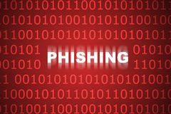 Phishing Abstract Background Royalty Free Stock Photo