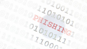Phishing computer virus Royalty Free Stock Images