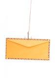 Phishing del correo aéreo Fotos de archivo libres de regalías