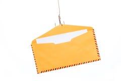 Phishing del correo aéreo Fotografía de archivo libre de regalías