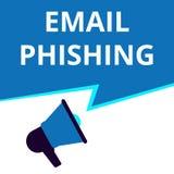 phishing del correo electrónico del texto libre illustration