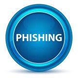 Phishing Eyeball Blue Round Button stock illustration