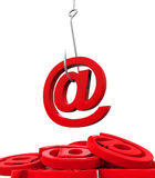 Phishing Fraud Online Royalty Free Stock Images