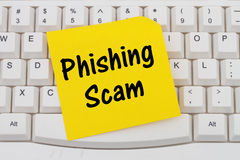 Phishing Scam royalty-vrije stock fotografie