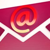 Phishing Scam Email Identity Alert 3d Rendering Royalty Free Illustration