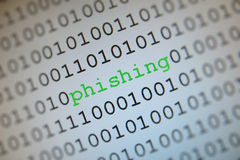 Phishing Virus Stockfotos
