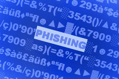 Phishing Virus Stockbild