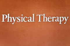 Phisical Therapy Stock Image