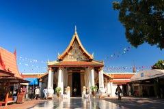 Phitsanulok Ταϊλάνδη - 1 Δεκεμβρίου 2014: Μπροστά από Phra Ubosot, ordi Στοκ φωτογραφία με δικαίωμα ελεύθερης χρήσης
