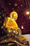 Phitsanulok Buddha dorato Staute Fotografia Stock Libera da Diritti