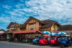 Phitsanulok landskapjärnvägsstation Fotografering för Bildbyråer