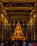 PHITSANULOK, TAILANDIA - 6 DE DICIEMBRE DE 2014: Wat Phra Sri Rattana Ma Fotografía de archivo libre de regalías