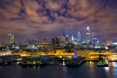 Phladelphia Skyline Stockfotos