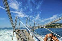 Phlegraean Islands and Naples coast Royalty Free Stock Photos