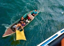 Phlippines żebracy fotografia royalty free