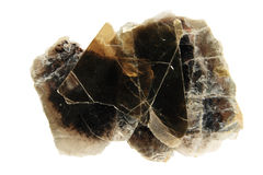 Phlogopite mica Royalty Free Stock Images