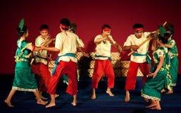 Phloy Suoy舞蹈,柬埔寨 免版税图库摄影