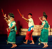 Phloy Suoy Dance, Cambodia Stock Photos