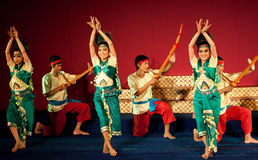 Phloy Suoy Dance, Cambodia Royalty Free Stock Photography