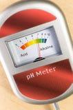 pHmetro analogico del suolo Fotografia Stock Libera da Diritti