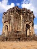 Phnom bakheng寺庙,吴哥 免版税库存图片