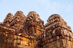 Phnom Bakheng in Angkor Wat, Cambodia Stock Photos