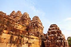 Phnom Bakheng in Angkor Wat, Cambodia Royalty Free Stock Images