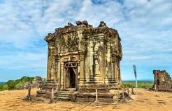 Phnom Bakheng, a Hindu and Buddhist temple at Angkor Wat - Cambodia. Phnom Bakheng, a Hindu and Buddhist temple at Angkor Wat in Cambodia Royalty Free Stock Photos