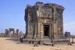 Phnom Bakheng - One of the temples around Angkor Wat Royalty Free Stock Images
