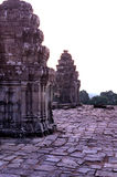 Phnom Bakheng temp- Angkor Wat, Cam stock photography