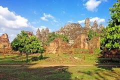 Phnom bakheng Temple,Angkor. Siem reap, Cambodia Stock Photos