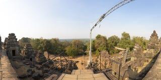 Phnom bakheng Temple in Angkor. Siem reap, UNESCO site Cambodia. Royalty Free Stock Photos