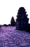 Phnom Bakheng temple- Angkor Wat, Cam Stock Image